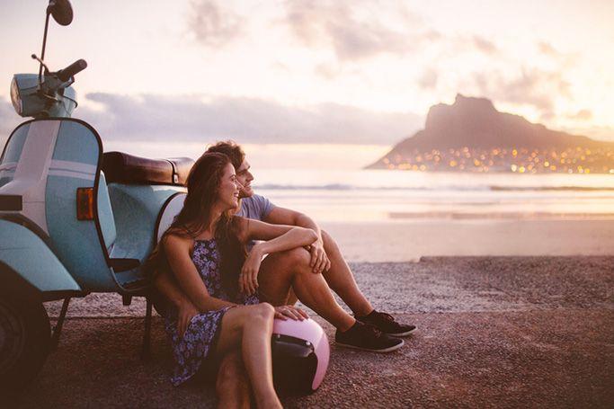 A European Travel Couple